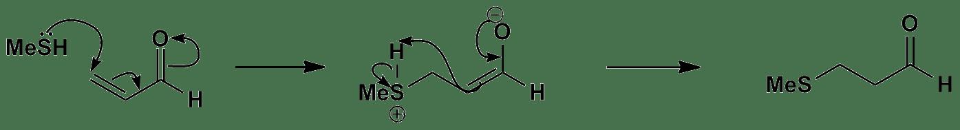 Conjugate addition mechanism