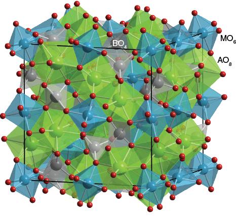 Garnet Structure Garnet - Ca3Al2Si3O12 ...