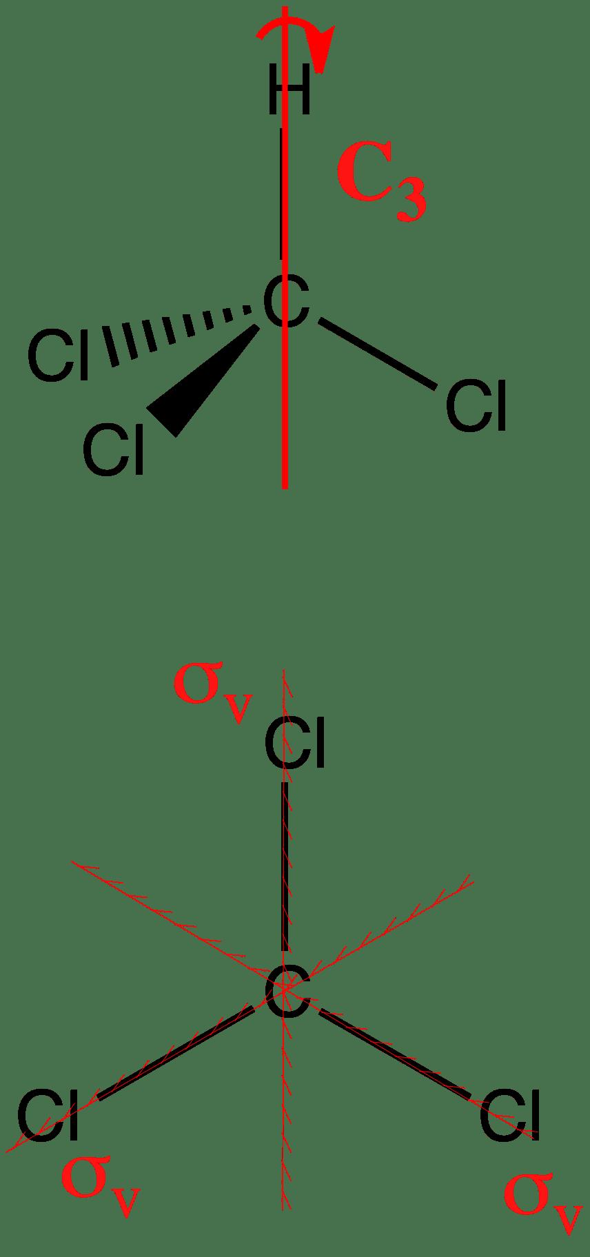 c3v trichloromethane