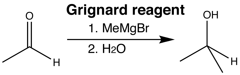 Grignard addition